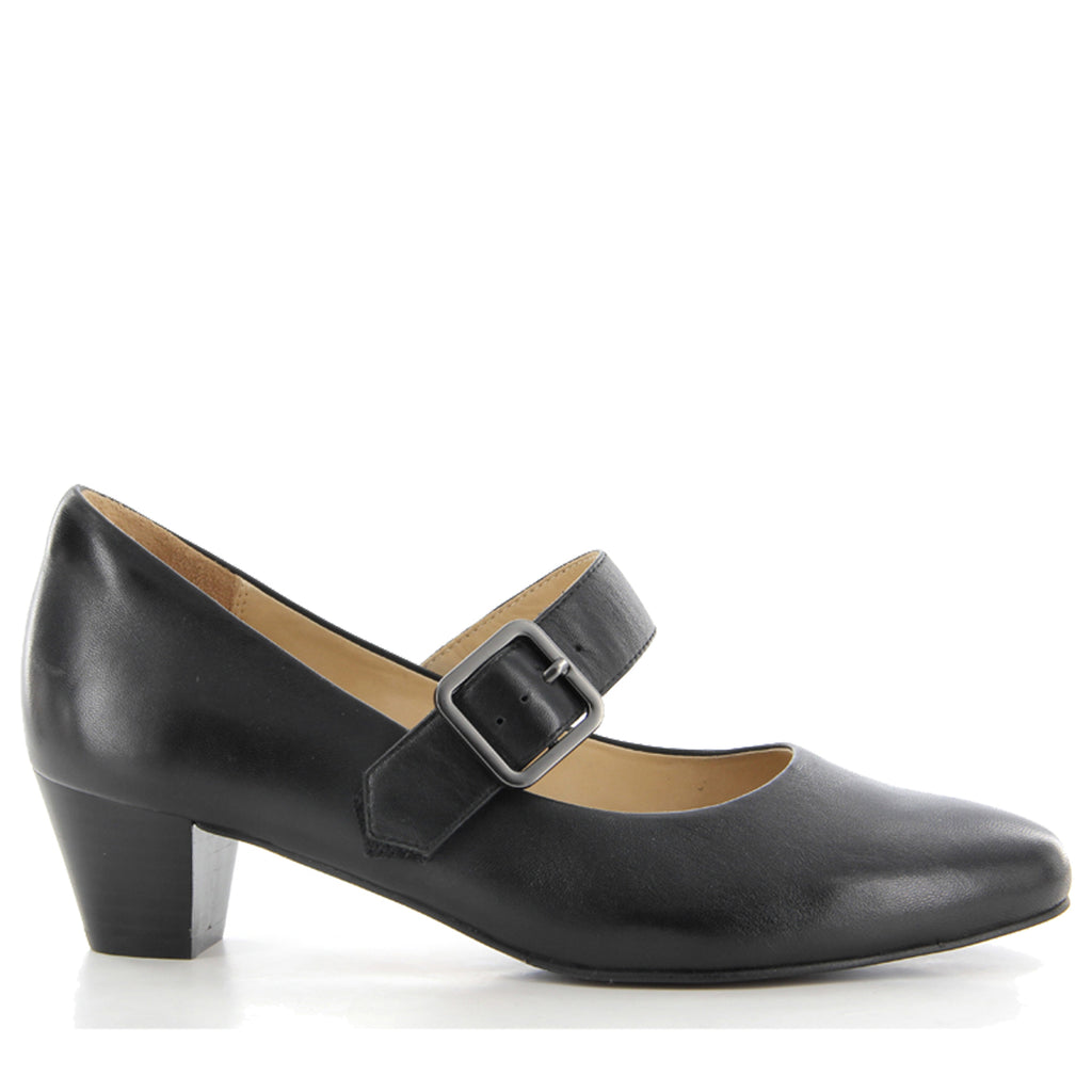 437c4746e27 Shop VALLEY FF - BLACK by ZIERA - Ian s Shoes for Women