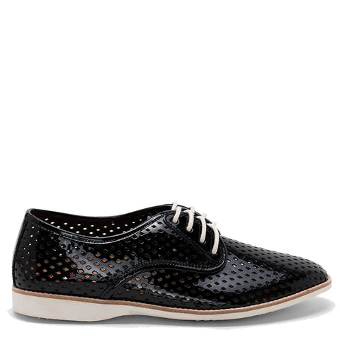 DERBY PUNCH - BLACK PATENT