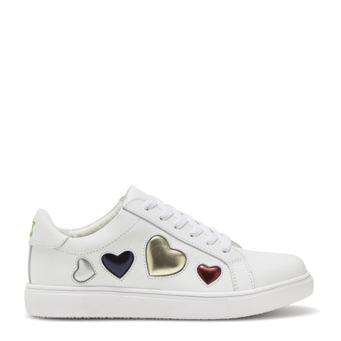 KYLA LOVE HEARTS - WHITE
