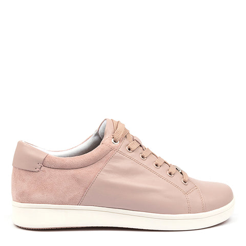 DELILAH XF - SEASHELL LEATHER SUEDE
