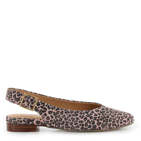 LISA  - ROSE LEOPARD SUEDE