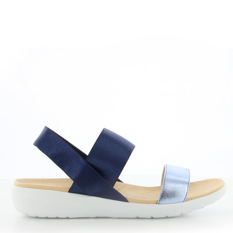 UPRISE W - PALE BLUE NAVY ELASTIC