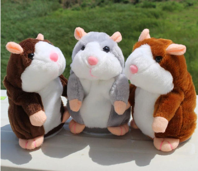 Talking Hamster Pet Toy