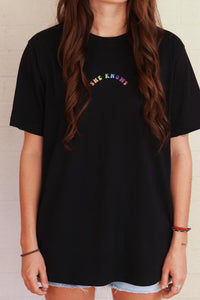Hollie Col 'She Knows' Black Tee