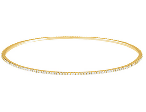 Ultra Thin Diamond Bangle