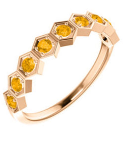 Milk and Honey Ring