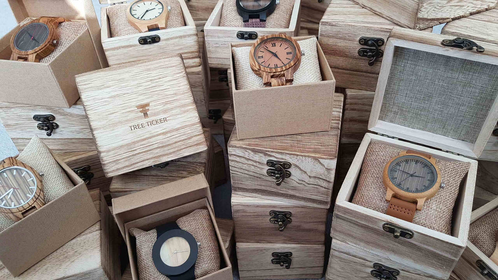 Wood watches bulk order