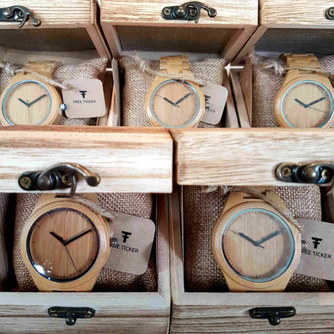 Wooden Watch Engraving