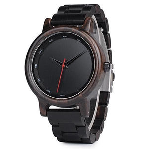 Zeba I | Ebony Wood Watch | Wooden Watches UK - TreeTicker