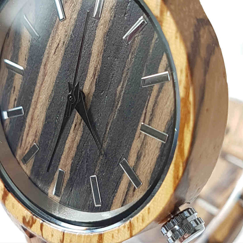 Grain | Zebrawood - Tree Ticker