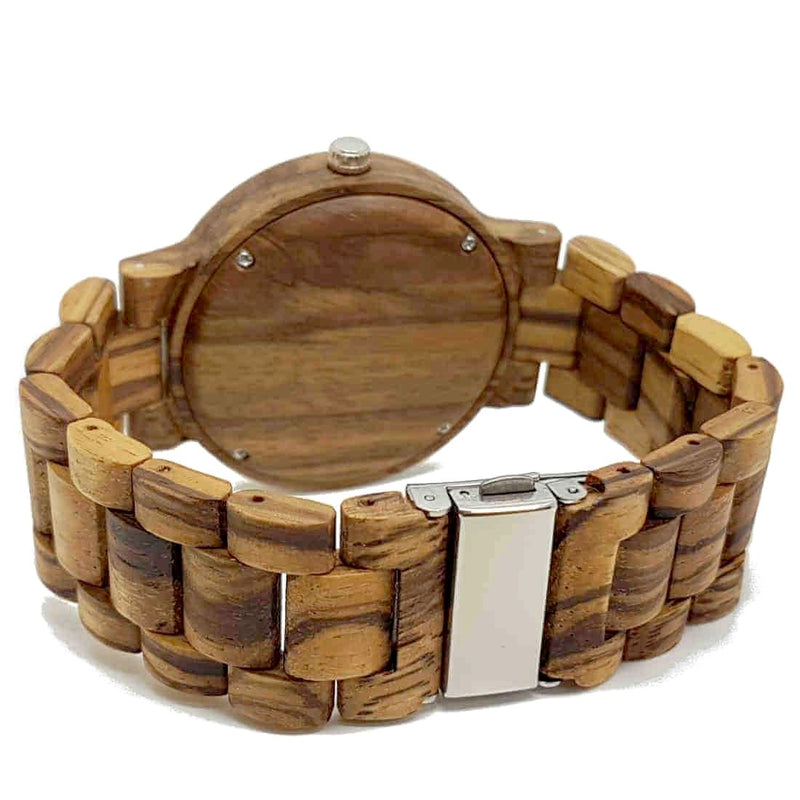Vintage | Zebrawood & Bamboo - Tree Ticker