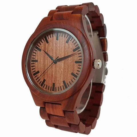 Kirabo | Redwood Watch | Wooden Watches UK - TreeTicker
