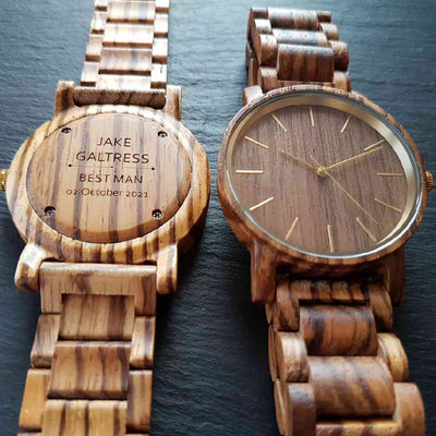 Mojave | Groomsmen Watches x8 - TreeTicker
