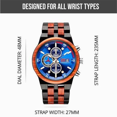 Amare II | Groomsmen Watches x5 - Tree Ticker