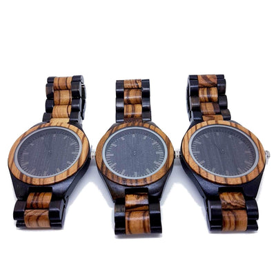 Amsel | Groomsmen Watches x4 - Tree Ticker