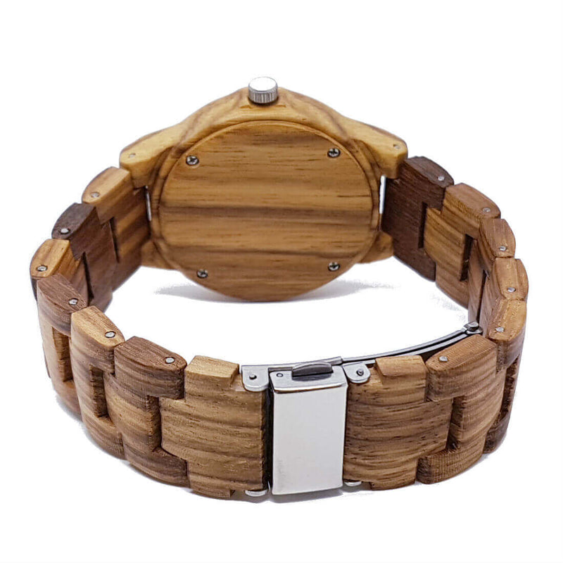 Cacia | Zebrawood | Women's Wooden Watch