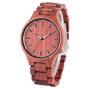 Madera | Red Sandalwood Watch | Wooden Watches UK - TreeTicker
