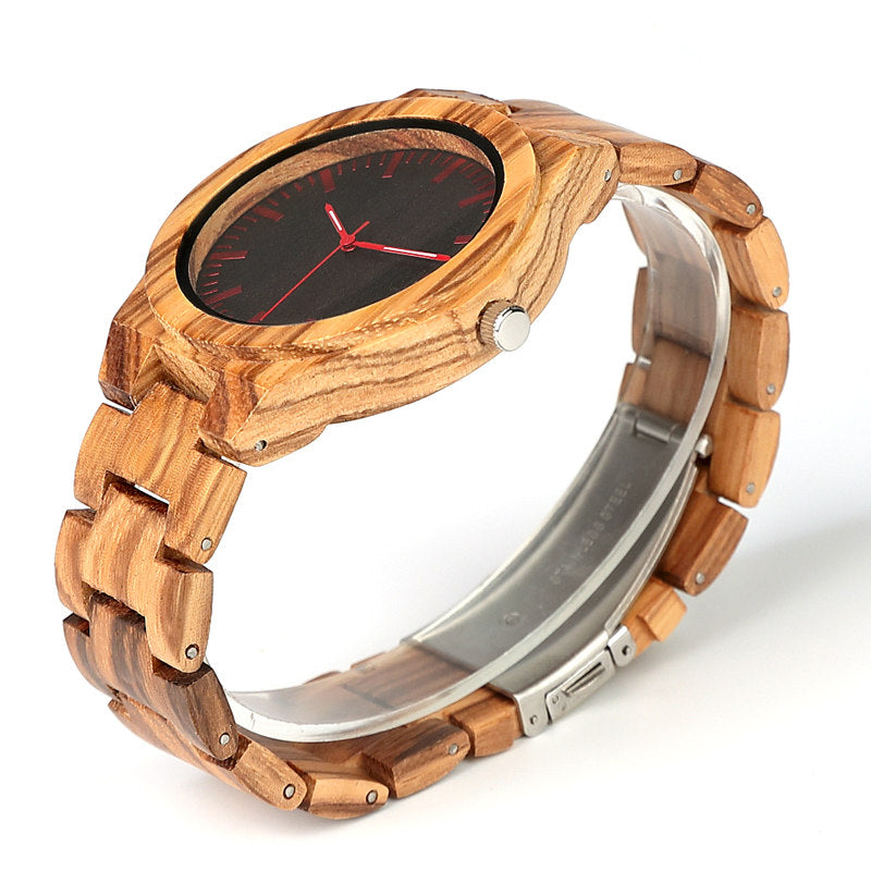 Quoba | Zebrawood - Tree Ticker