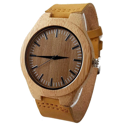 Hoku Coffee | Bamboo Watch | Wooden Watches UK - TreeTicker