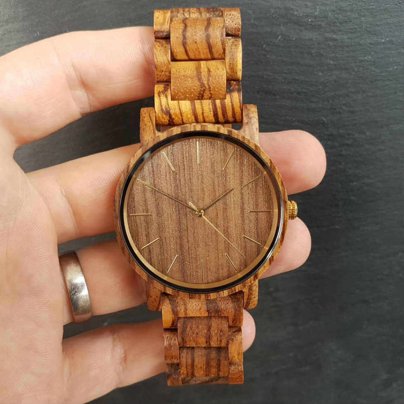Mojave | Groomsmen Watches x4 - Tree Ticker