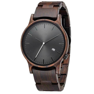 Marula I | Black Sandalwood Watch | Wooden Watches UK - TreeTicker