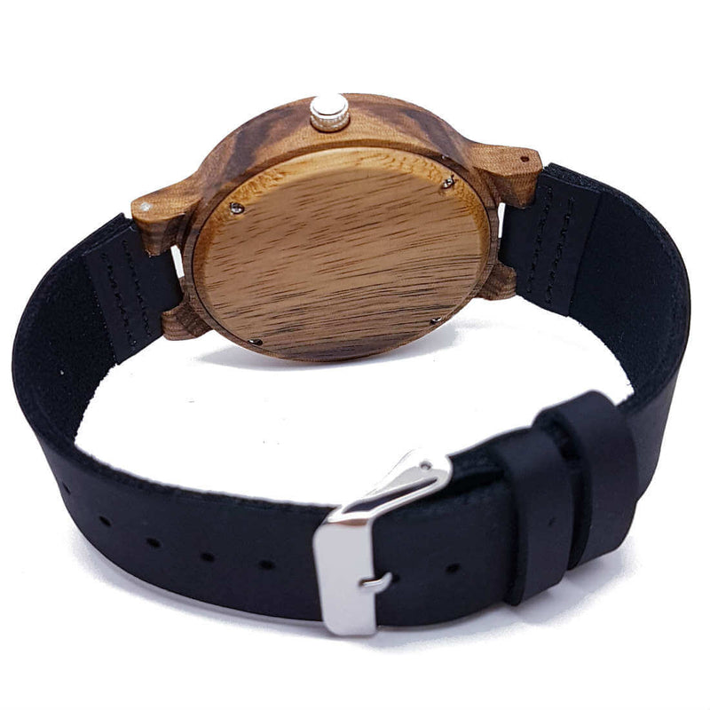 Core Black | Zebrawood - TreeTicker