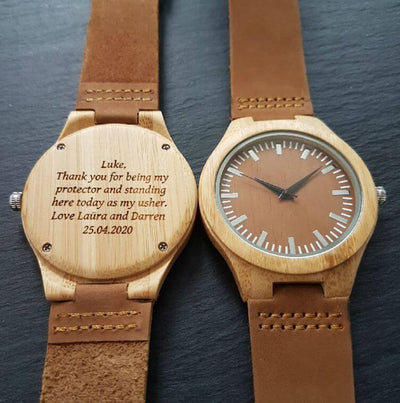 Hoku Coffee | Groomsmen Watches x7 - Tree Ticker