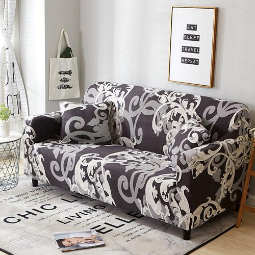 【Hot Selling】Stain Resistant Universal Spandex Stretch Elastic Sofa Couch Chair Cushion Covers -One piece