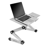 Spine Protecting  Executive Office Solutions Portable Adjustable Aluminum Laptop Desk