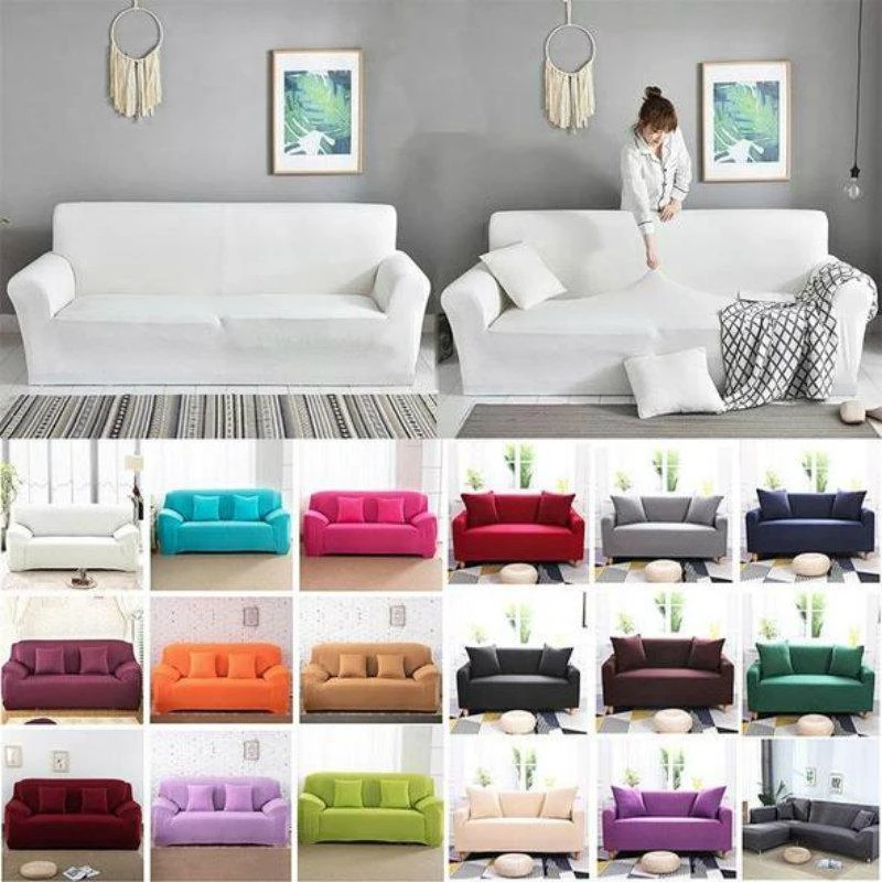 【HOT SALE】UNIVERSAL WATERPROOF SOFA COVER ELASTIC COVER