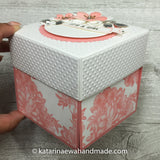 Baby shower exploding box eb26-pink