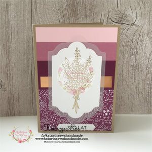 Prosta kartka urodzinowa  |  SImple Birthday card cp09