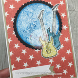 Kartka unwersalna z gitarą | Any occasion card with guitare cp19