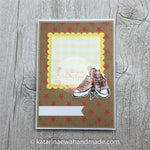 Kartka unwersalna z  trampkami | Any occasion card with trainers cp20