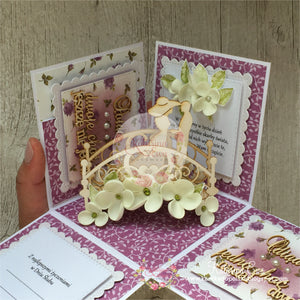 Ślubny exploding box  | Wedding exploding box eb07