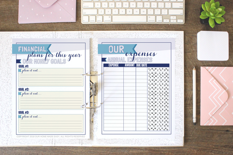 Expenses Printables