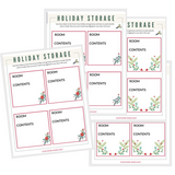 Holiday Storage Labels