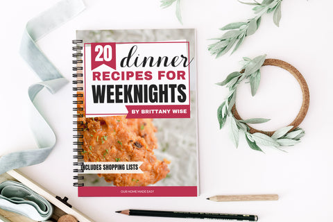 20 Dinner Recipes for Weeknights (with Shopping Lists)