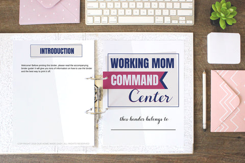 Working Mom Command Center