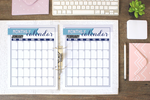 Monthly Calendar Printables