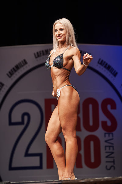 Oksana Gribaite - enjoyed this challenge it changed my body