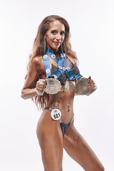 Silvia Somaggio - IFBB Bikini athlete talks about her incredible achievements in life and fitness....