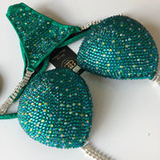 (Sarah) Fully Crystallized Competition Bikini