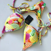 Sweet Candy Competition Posing Bikini - V bottom style - PRE ORDER
