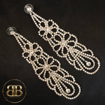 BELINDA Competition Earrings - long