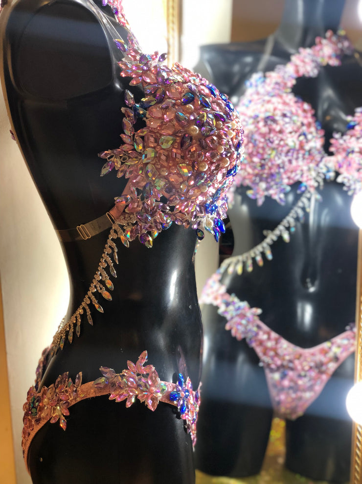 Fairytale pink Competition Bikini- Couture Level 1