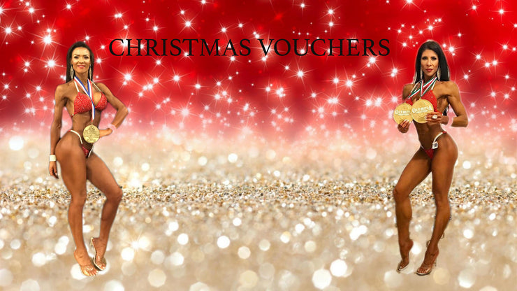 CHRISTMAS VOUCHERS FOR COMPETITION SUITS