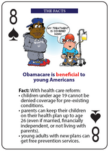 Load image into Gallery viewer, Benefits of Obamacare Playing Cards