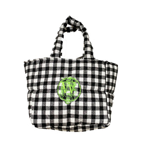 Checkmate Puffer Tote