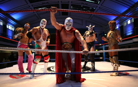 Lucha Libre fighters today